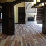 Hickory Random width Flooring