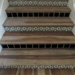 Hickory Treads & Tile Risers