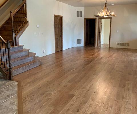 Mollicas Hardwoods Flooring pictures downstairs