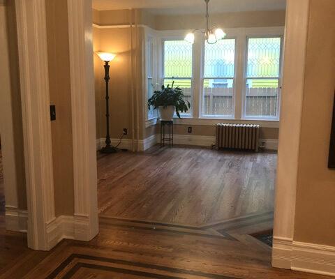Mollicas Hardwoods Flooring pictures hallway livingroom