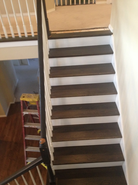 Mollicas Hardwoods Flooring pictures stairs